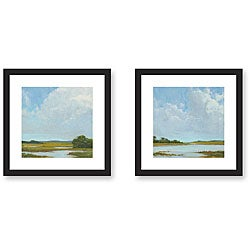 Gallery Direct Kim Coulter 'Summer Clouds' 2-piece Framed Art Set