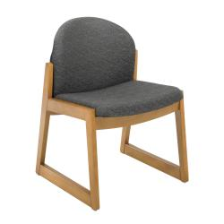 Safco Urbane Armless Wood Visitor Chair