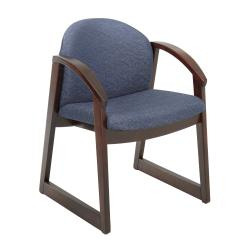 Safco Urbane with Arm Wooden Visitor Chair - Thumbnail 2