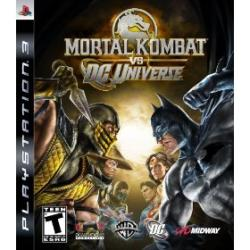 PS 3 - Mortal Kombat vs. DC Universe