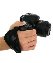 Eforcity Black Heavy-duty Camera Hand Strap