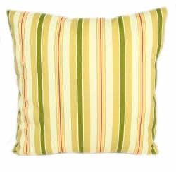 Decorative Alex Stripe Outdoor Pillows (Set of 2)