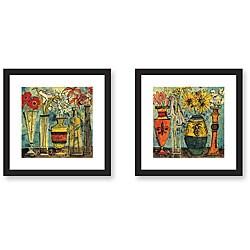 Gallery Direct Olivia Maxweller 'Flowers' 2-piece Framed Art Set
