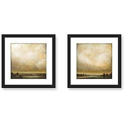 Gallery Direct St. John 'Partly Cloudy' 2-piece Framed Art Set