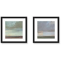 Gallery Direct Kim Coulter 'Sky' 2-piece Framed Art Print Set