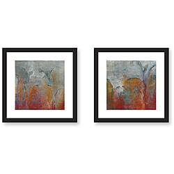 Gallery Direct Maeve Harris 'Garden' 2-piece Framed Art Print Set