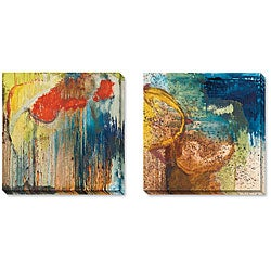 Gallery Direct Angeli 'Nature Revisited' Gallery-wrapped Art Set