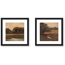 Gallery Direct Kim Coulter 'Awestruck' 2-piece Framed Art Print Set