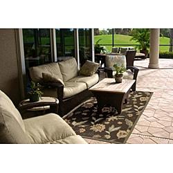 Tropic Series Outdoor/ Indoor Area Rug (8' x 10')