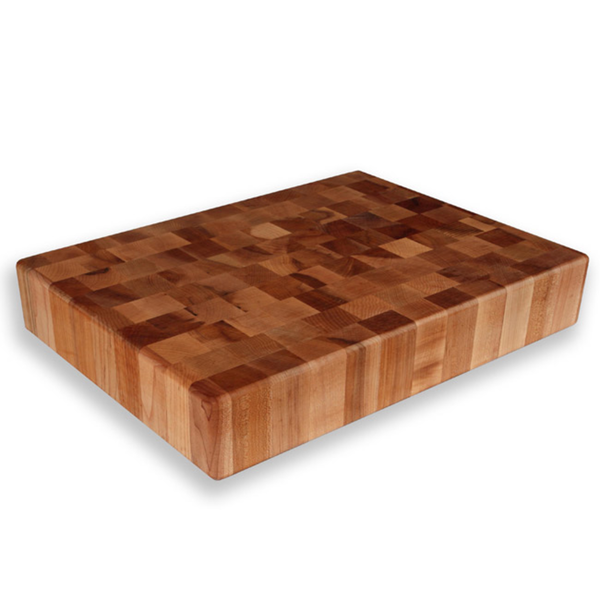 Shop maple end grain chopping block free shipping today