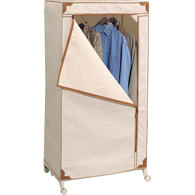 Shop Organize It All Sahara Storage Wardrobe Free