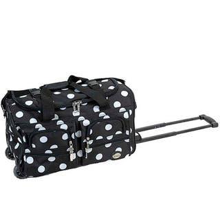 860d5c15c4c2 Quick View. Was  53.99.  11.50 OFF.  42.49. Rockland Black Dot 22-Inch Carry  On Rolling Upright Duffel Bag