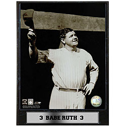 Babe Ruth 9x12 Photo Plaque