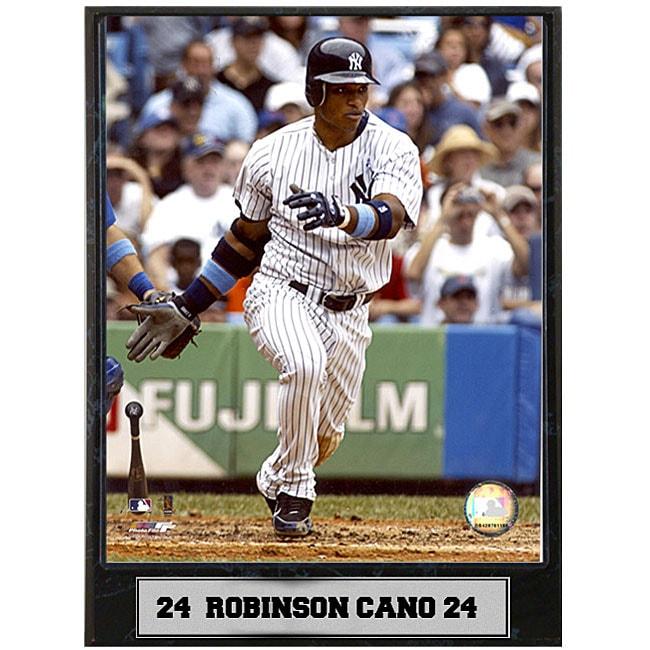 Robinson Cano 9x12 Baseball Photo Plaque