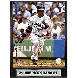 Robinson Cano 9x12 Baseball Photo Plaque - Thumbnail 0