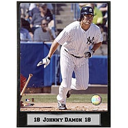 Johnny Damon 9x12 Baseball Photo Plaque