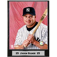 Jason Giambi 9x12 Baseball Photo Plaque