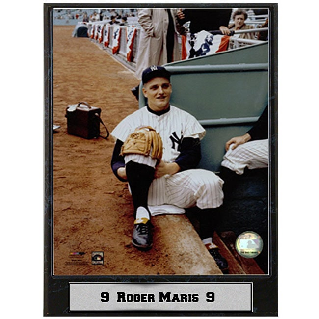 Roger Maris 9x12 Photo Plaque