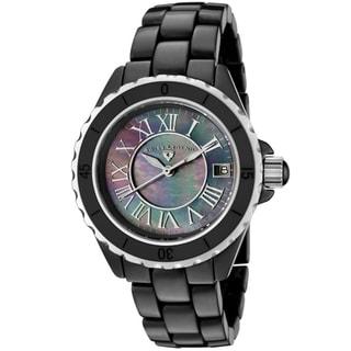 Swiss Legend Karmica Women's Black Ceramic Watch