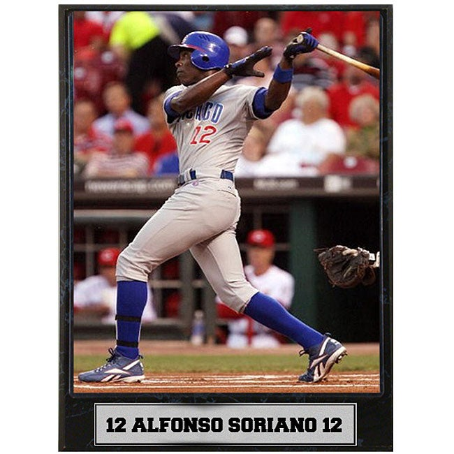 Alfonso Soriano 9x12 Baseball Photo Plaque