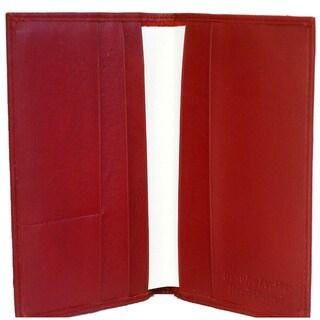 Kozmic Multiple Pocket Leather Passport Cover