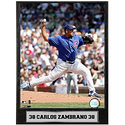 Carlos Zambrano 9x12 Baseball Photo Plaque