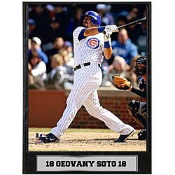 Geovany Soto 9x12 Baseball Photo Plaque