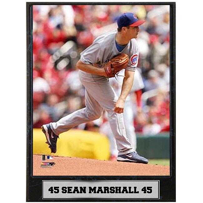 Sean Marshall 9x12 Photo Plaque