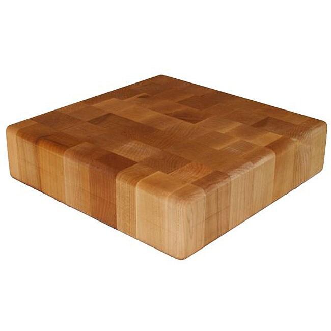 Maple End Grain 12x12-inch Chopping Block