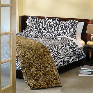 Expressions Regal Animal Print 3-piece Duvet Cover Set