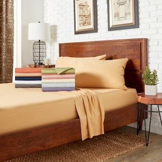 Hemsch 400 Thread Count Cotton Sa Weave Solid C