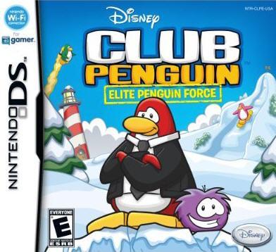 Nintendo DS - Club Penguin: Elite Penguin Force