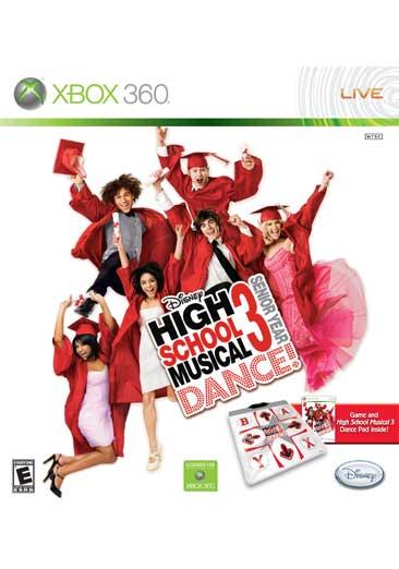 Xbox 360 - High School Musical 3: Senior Year Dance (Dance Pad Bundle)