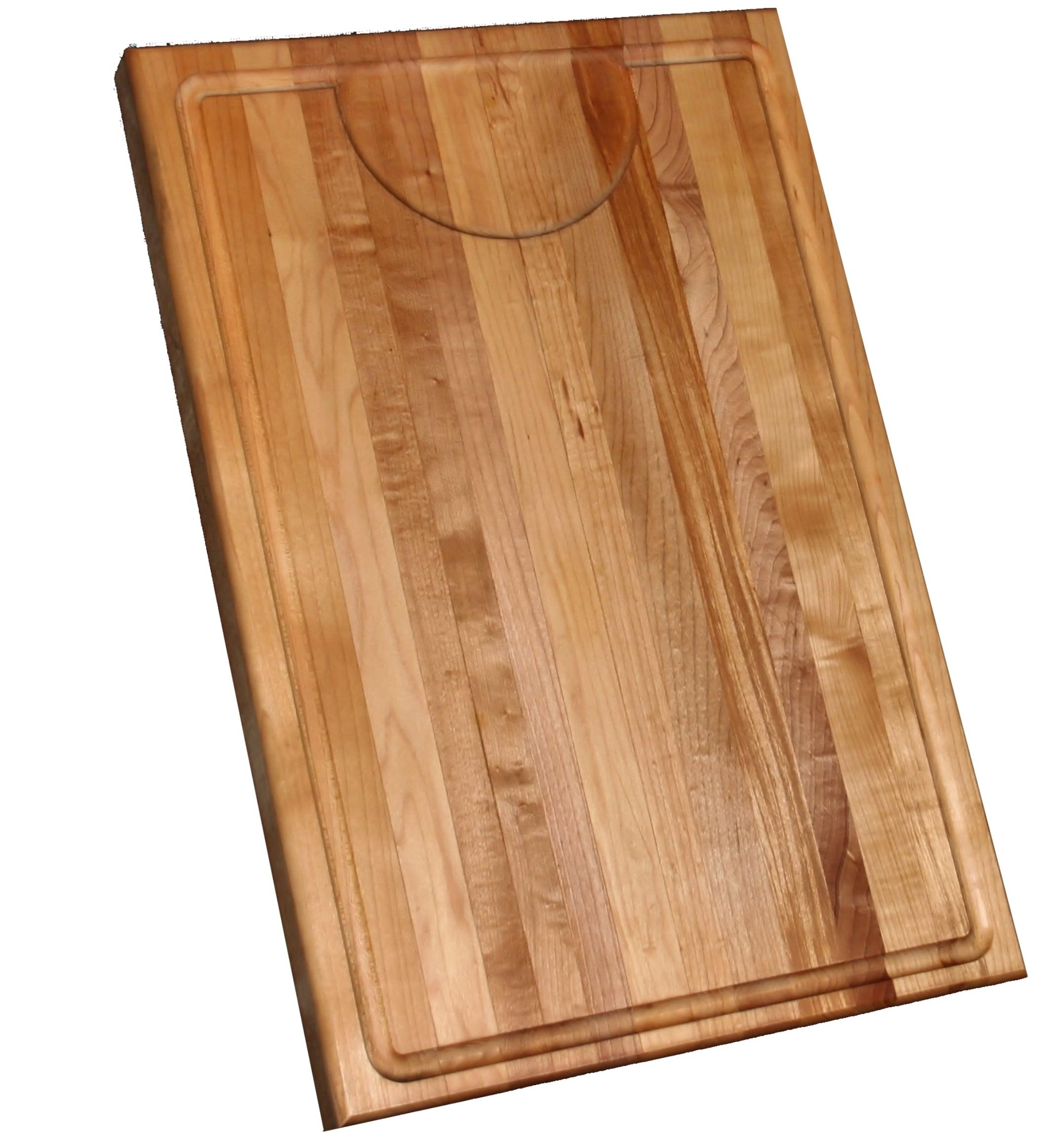 Maple Edge Grain 12x18-inch Cutting Board - Thumbnail 1