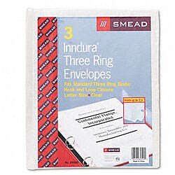 Smead Poly Ring Binder Envelopes (Pack of 3)
