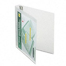Print-Wont-Stick 1-inch View-Tab Flexible Binder