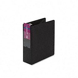 "Avery Mini Durable 2-Inch Round Ring Black Reference Binder (Holds 8.5"" x 5.5"" Sheets)"