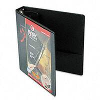 EasyOpen ClearVue Black 1.5-Inch Locking Round-Ring Binder