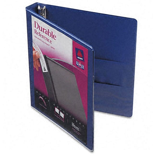 shop avery durable 1-inch vinyl clear-view binder