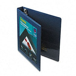 Avery 1-Inch Framed Presentation EZD Locking Navy-Blue View Binder
