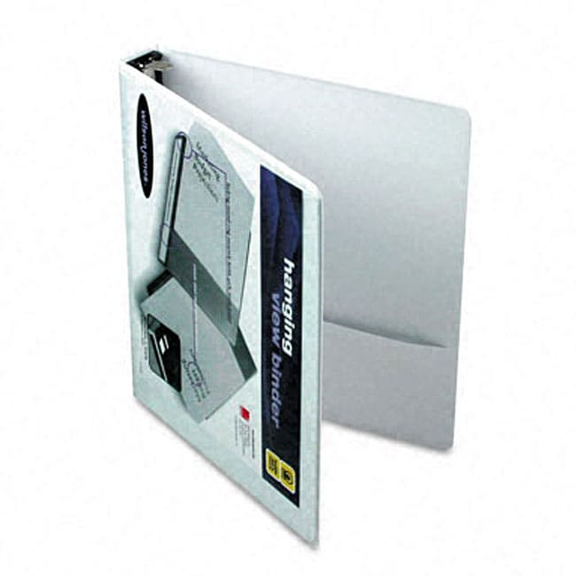 shop hanging view 1 inch binder with dubllock rings free shipping