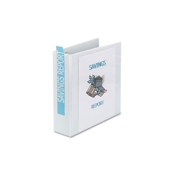 Avery Showcase 3-Inch White Reference View Binder
