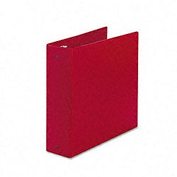 Avery Red Economy 3-Inch Round Ring Reference Binder - Thumbnail 0