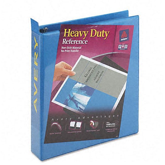 Shop Avery Nonstick 1.5-Inch Heavy-Duty Blue View Binder
