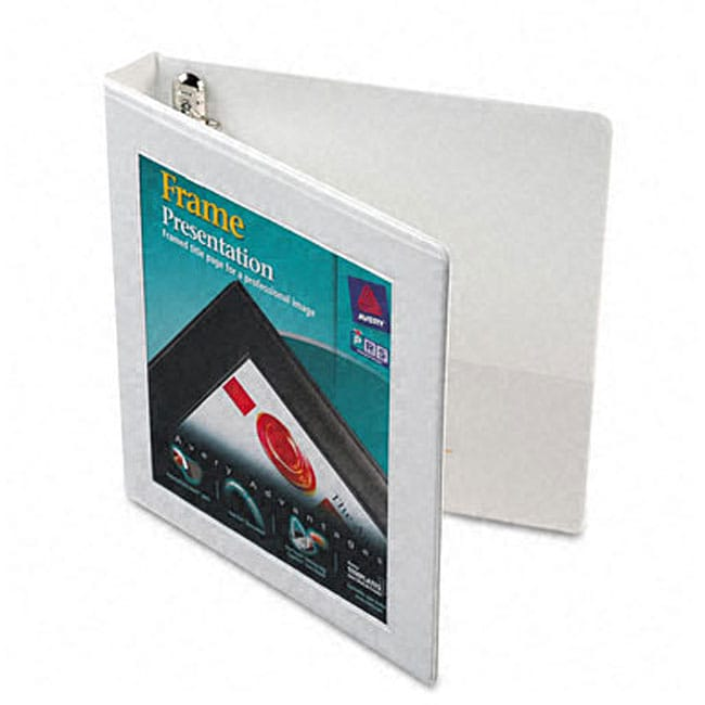 shop avery 1 inch framed presentation ezd locking view binder free