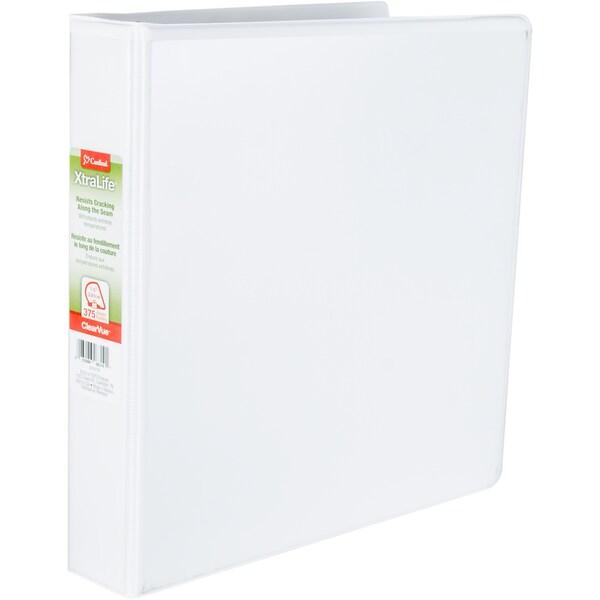 shop clearvue xtralife 1 5 inch slant d ring presentation binder