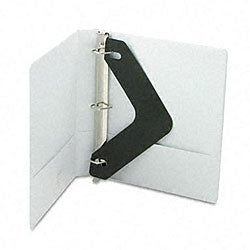 Wilson Jones 1-Inch White D-Ring Vinyl View Binder