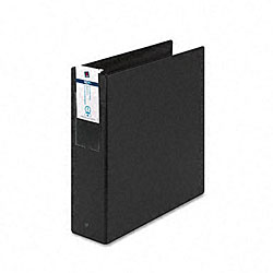 Avery Black Economy 3-Inch Round Ring Reference Binder with Spine Insert