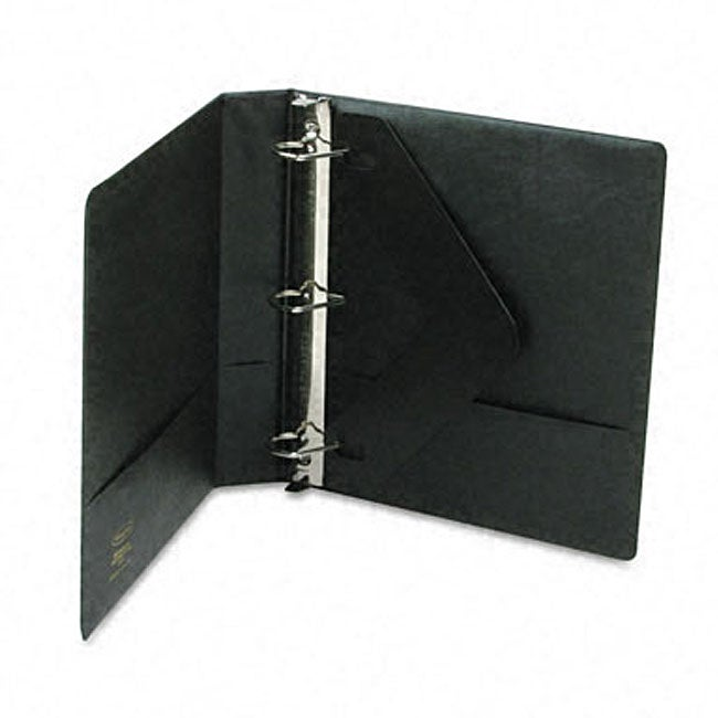 Heavy-duty 1.5-inch D-ring Binder with Label Holder