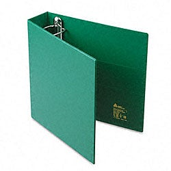 Avery 2-Inch Heavy-Duty Green Vinyl EZD Ring Reference Binder